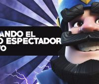 Modo espectador y más recompensas en Clash Royale